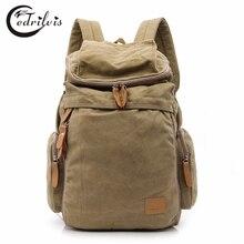 2016 Vinge Unisex Backpacks W301 Large Luggage Travel Bag Canvas Double Shoulder Bag School Bag Men or Women Portable duffle Bag