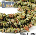 Unakite stone Irregular Gravel beads Top quality Natural stone 88cm strand Freeform Chips Loose bead Jewelry bracelet making DIY