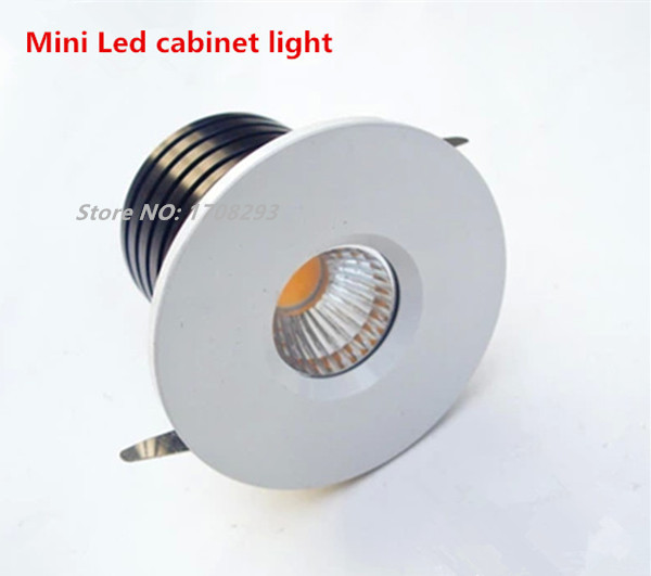 Us 63 8 10pcs 1w 3w Dimmable Led Mini Cabinet Light Wine Lights Spotlight With Driver Display Recessed Warm White Cool In