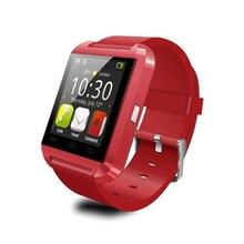1 STÜCK Heißer Produkt Bluetooth-uhr U8 Können Passometer usb-schnittstelle Inteligentes Reloj Smartwatch Mp3