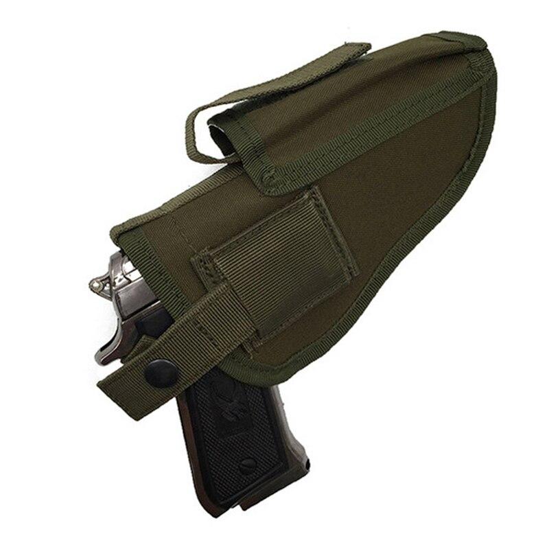 Caza al aire libre Táctico Del Muslo de La Pierna Para Pistola Pistolera Bolsa e