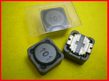 Free Shipping!!! 2pcs 1.7A100uH shielded inductors / SMD power inductors 12 * 12 * 7MM /Electronic Component