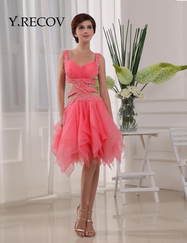 sexy birthday dresses yd2172 sweetheart ruffle organza