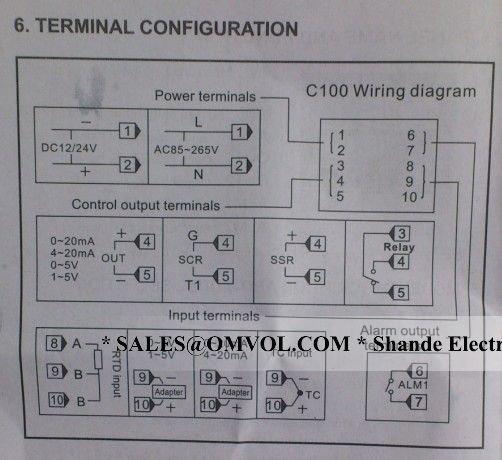 rex c100 pid wiring diagram