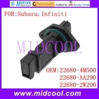 Novo uso Do Sensor de Fluxo De Massa de Ar OE No. 22680 4M500 22680 AA290 22680 2W200 para Infiniti|oes| |  -