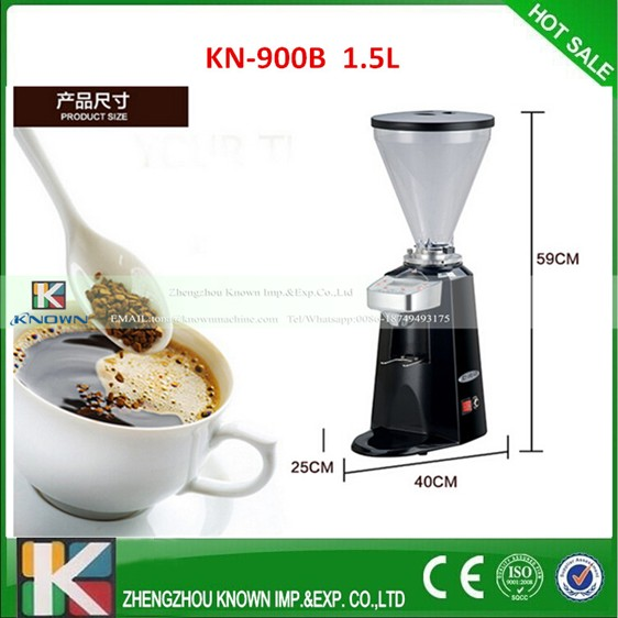 1 5L mini coffee grinder machine coffee milling machine with color chosse