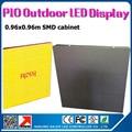 Оптовая продажа p10 открытый из светодиодов витрины с воздуха простое подключение открытый водонепроницаемый p10 из светодиодов экран стены
