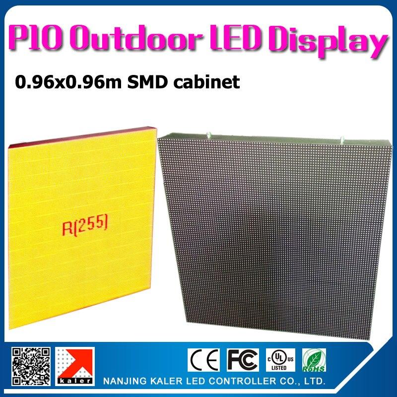 тонкая вилка за шкаф - TEEHO Wholesale p10 outdoor led display cabinet with air plug aviation easy connection outdoor waterproof p10 led screen wall