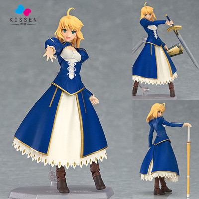 Kissen Cool Fate Stay Night Saber Lily Boxed 614cm PVC Action Figure Model Collection Toy Gift Figma fate stay night fate cosplay saber 14cm 5 5 boxed faceswipe garage kit action figures toys face change model
