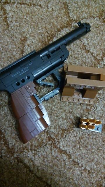22419 Regalo Armas 1 Ventas Navidad Arma De Luger Bricolaje 1 Bloques Fábrica Pistola Modelo Construcción Juguetes P08 Compatible Nvm8n0w