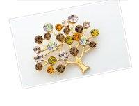бесплатная доставка модный цветочный спа 14 к Порше мода древо знаний GR rustle братан для женщин ювелирных изделий
