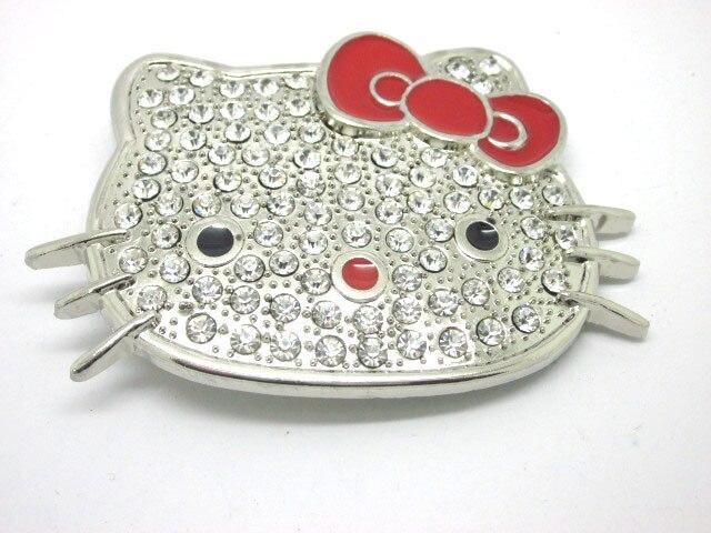 Пряжка для ремня с изображением Красного кота
