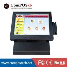 Date commande pos terminal tout en un écran tactile POS machine meilleure qualité informatique de trésorerie pour restaurant, supermarché