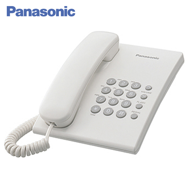 Panasonic Kx Ts2350ruw Phone Home Fixed Desktop Landline For And Offfice Use