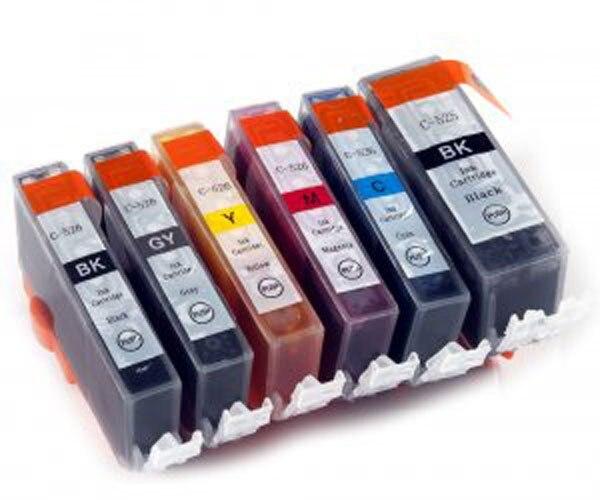 6 x INK Cartridge PGI-425 BK PGI-425BK CLI-426 for CANON PIXMA  MG6140/MG6240/MG8140/MG8240 PRINTER with Chip