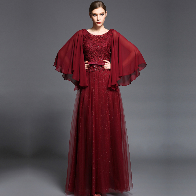 long dress elegant unique
