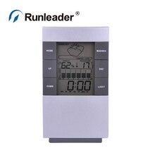 Sale Digital LCD Hygrometer Thermometer Temp Humidity Meter Max/Min Clock Indoor