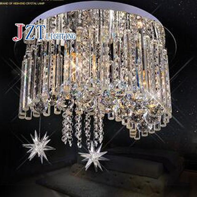 Genial T Moderne Luxus Kristall Licht FÜHRTE Ringlampe Sterne Mond Form Für  Schlafzimmer Restaurant Romantische Einfachen Kronleuchter
