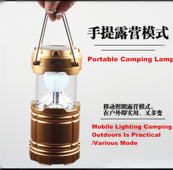 New Arrival 6 Led Disaster Prevention Artifact 5W Multifunctional Camping Emergency Light Lantern BXL-G85Z