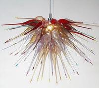 Modern Luxury Hand Blown Vidro Murano Lustres Lâmpadas LED Lâmpada Do Teto para Casa 110/120/220/240 V|modern luxury chandelier|luxury chandelier|chandelier led -