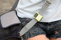 черный 2 гб металлический зажим для MP3-плеер с FM-радио жк экран