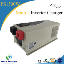 Home Network Personal Computers Application and Normal Specification 1500W 12V24V 220V Inverter With Battery Charge