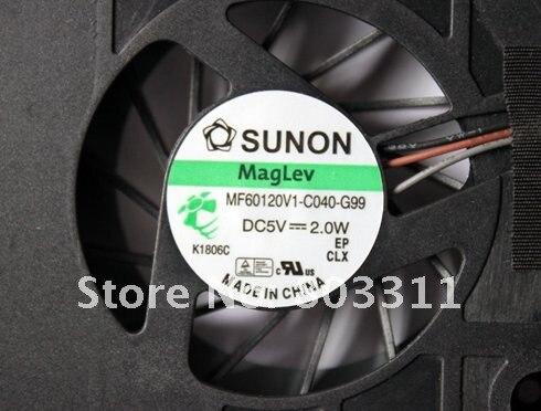 Абсолютно вентилятор для процессора ноутбука для acer 5736 серии MF60120V1-C040-G99