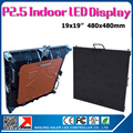 Indoor led cabinet for rental led wall P2.5 die-cast aluminum cabinet also provide P3 P4 P5 P6 led video wall indoor outdoor