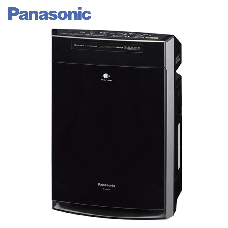 Panasonic F-VXH50R-K Air Purifier Humidifier 2.3L 3D-circulation of air flow ECONAVI mode Humidification function Child Lock