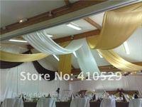 ru атлас ткань \ Atlas - 30 см * 9 м - фиолетовый цвет / стол начал для свадьба стол пилот