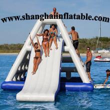 2016 water climber and slide/inflatable water sport games/inflatable water slide/inflatable water parks for adults and kids
