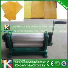 Hot sale 86*310mm Manual Beeswax foundation machine cells size 5.4mm