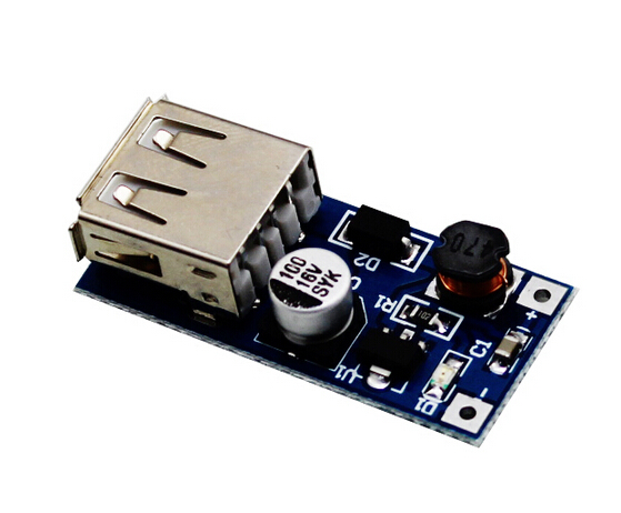 DC-DC step up module 0.9V~5V turn 5V 600MA USB for portable power source 10pcs/lot