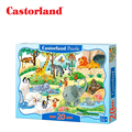 Castorland Children Puzzle Interesting Cute Animals Puzzles for Kids older than 4 Creative Intelligence Develop Ship from Russia