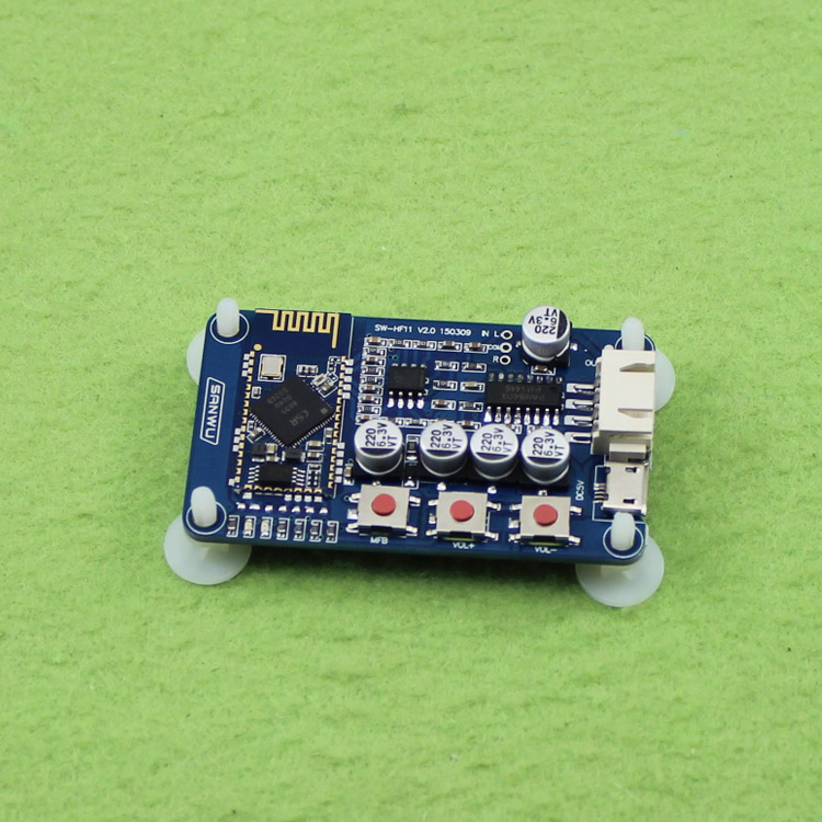 US $14 6 |Bluetooth power amplifier board Mini USB digital power amplifier  small speaker speaker special Bluetooth receiver board H6A4 New-in