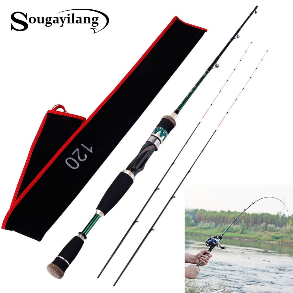 ФОТО 2Tips 130cm Baitcasting Fishing Rod ML M MH Fishing Rod 99% Carbon Fiber Material 1.3m Portable Spinning Baitcasting Fishing Rod