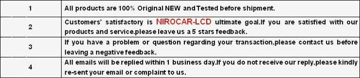 """Niro DHL автомобильный навигатор 7,"""" ЖК-экран панель TPO LTE072T-050 ЖК-дисплей автомобильные запчасти"""