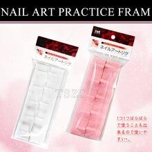 1 шт/лот белая розовая пластиковая тренировочная фреза для обучения