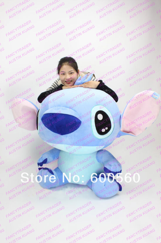 New Arrival Huge Cute Giant Plush Stuffed Stitch Birthday Gift! Accept Dropshipping FT90087.jpg