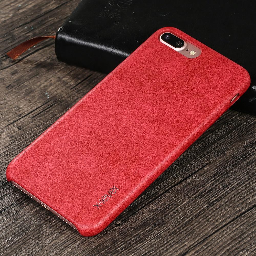 X-Level für iPhone 7 Hülle Zubehör Luxusmarke Retro Leder TPU - Handy-Zubehör und Ersatzteile - Foto 6