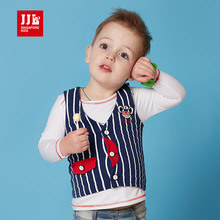 2016 spring autumn baby coat 100 cotton fashion design boys vest kids waistcoat baby clothes baby