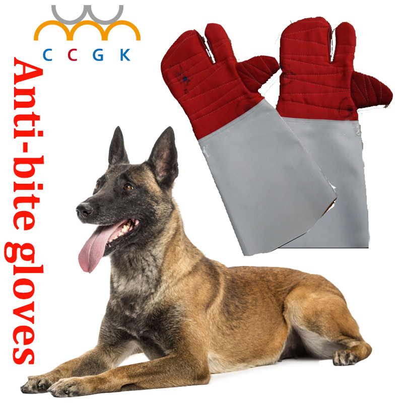 Three fingers Anti-bite gloves tactical animal training for dog cat snake bite anti-scratch protective Training Feeding gloves witblue new touch screen for 9 woxter qx90 qx 90 tablet touch panel digitizer glass sensor replacement free shipping