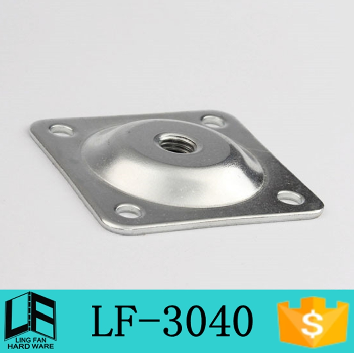 Hardware Table Leg Mounting Plate Angle Legs No Slope Lf 3040