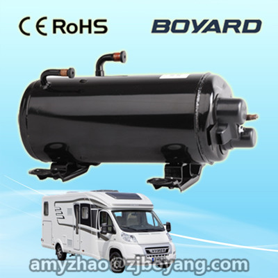 RV Caravan rooftop Air Conditioner/Heater 240 v powered with 50Hz 1PH horizontal ac compressor r410a 9000btu horizontal compressors rv rooftop caravan air conditioner