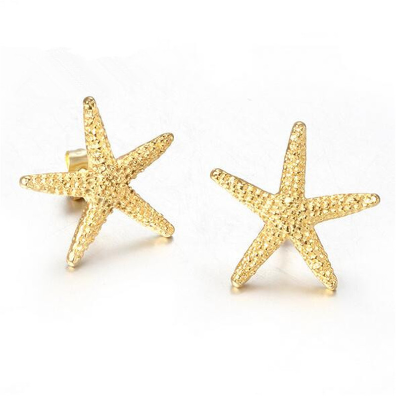 Compare Prices on Gold Starfish Earrings Online ShoppingBuy Low