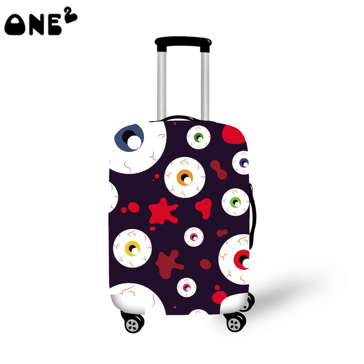 ONE2 Design fashion travel luggage cover travel bag cover nice pictures for suitcase boys good quality
