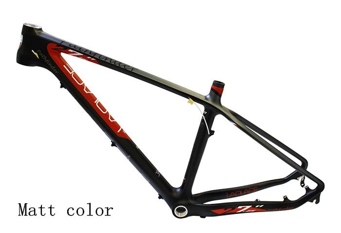 Brand New LAPLACE 27.5*15/17''  Bicycle Frame Carbon Fiber MTB Bike Frame Outdoor Bike Bicycle Carbon Frame Laplace PATHFINDER