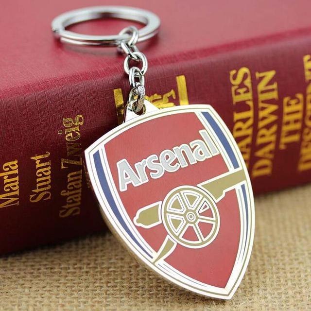 Arsenal Football Team Logo Keychain