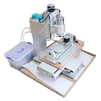 mini CNC Router 5 Axis CNC Machine 2.2KW Drilling Milling Machine 3040 for metal wood