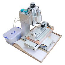 Newest mini CNC Router 5 Axis CNC Machine 2.2KW Drilling Milling Machine